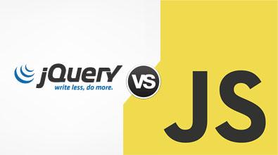 jQuery vs JavaScript